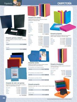 Ofertas de Carpetas  en el folleto de Dideco en Madrid