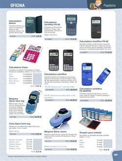 Ofertas de Calculadora científica  en el folleto de Dideco en Coslada