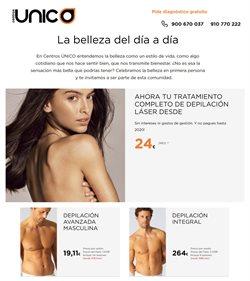 Ofertas de Centros Único  en el folleto de Santiago de Compostela