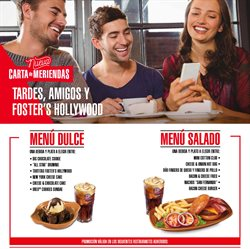 Ofertas de Foster's Hollywood  en el folleto de Madrid