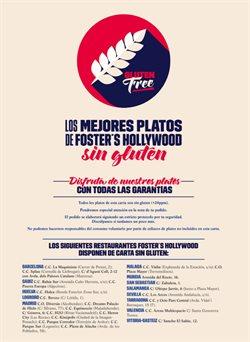 Ofertas de Foster's Hollywood  en el folleto de Esplugues de Llobregat