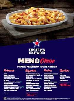 Ofertas de Restauración  en el folleto de Foster's Hollywood en Camargo