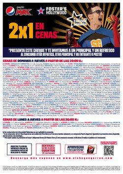 Catálogo Foster's Hollywood en Bilbao ( 24 días más )