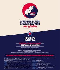 Ofertas de Restauración en el catálogo de Foster's Hollywood en Dénia ( Más de un mes )