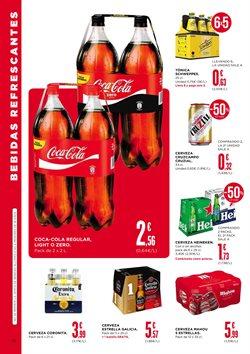 Ofertas de Coca-Cola  en el folleto de Supercor en A Coruña