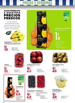Ofertas de Plátanos de Canarias  en el folleto de Supercor en León