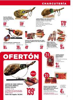 Ofertas de Paleta ibérica de cebo  en el folleto de Supercor en León