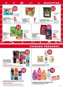 Ofertas de Gillette  en el folleto de Supercor en Bilbao