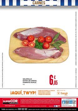Ofertas de Solomillo de cerdo  en el folleto de Supercor en Madrid