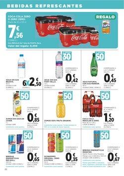 Ofertas de Coca-Cola Zero en Supercor