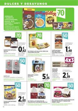 Ofertas de Nescafé en el catálogo de Supercor ( Publicado ayer)