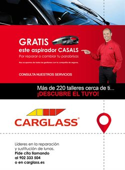Ofertas de Coche, moto y recambios  en el folleto de Carglass en Fuenlabrada