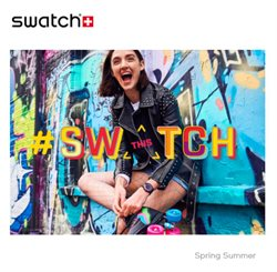 Ofertas de Swatch  en el folleto de Madrid
