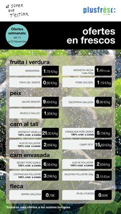 Ofertas de Plusfresc  en el folleto de Lleida
