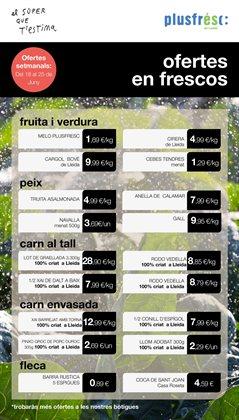 Ofertas de Plusfresc  en el folleto de Barcelona