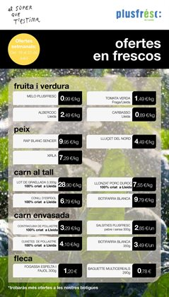 Ofertas de Plusfresc  en el folleto de L'Hospitalet de Llobregat