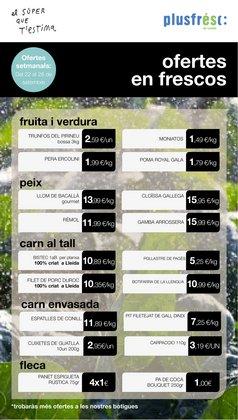 Catálogo Plusfresc en Lleida ( 2 días más )