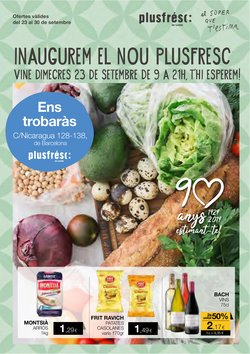 Catálogo Plusfresc en Sant Feliu ( Caduca hoy )