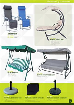 Ofertas de Muebles de jardín  en el folleto de Ferrcash en Madrid