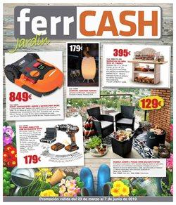 Ofertas de Jardín y bricolaje  en el folleto de Ferrcash en Alicante