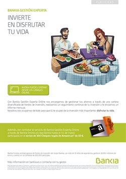 Ofertas de Bancos y Seguros  en el folleto de Bankia en Madrid