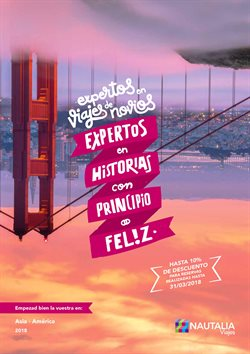 Ofertas de Viajes  en el folleto de Nautalia Viajes en Córdoba