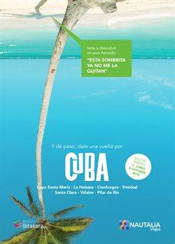 Ofertas de Viajes a Cuba  en el folleto de Nautalia Viajes en Vila-real