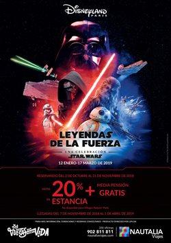 Ofertas de Viajes a Disneyland  en el folleto de Nautalia Viajes en Madrid