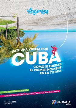 Ofertas de Viajes a Cuba  en el folleto de Nautalia Viajes en Cartagena