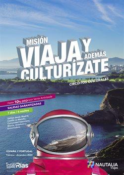 Catálogo Nautalia Viajes en Cartagena ( Más de un mes )