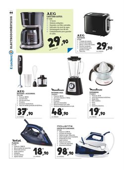 Ofertas de Exprimidor eléctrico  en el folleto de E.Leclerc en Madrid