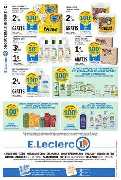 Ofertas de Papel higiénico en E.Leclerc
