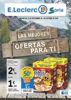 Catálogo E.Leclerc en Soria ( Publicado ayer )