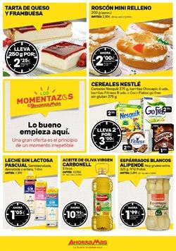 Ofertas de Tartas  en el folleto de AhorraMas en Madrid