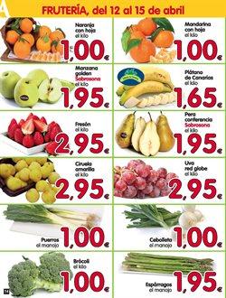 Ofertas de Plátanos de Canarias  en el folleto de Alimerka en León