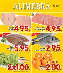 Ofertas de Alimerka  en el folleto de Ponferrada