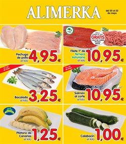 Ofertas de Alimerka  en el folleto de Oviedo