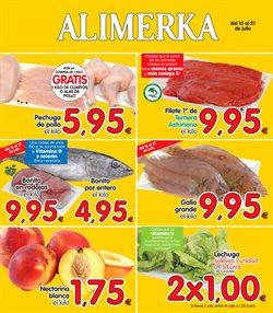Ofertas de Alimerka  en el folleto de Zamora