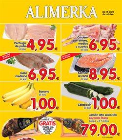 Ofertas de Alimerka  en el folleto de Burgos