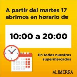 Catálogo Alimerka en Burgos ( Caduca mañana )