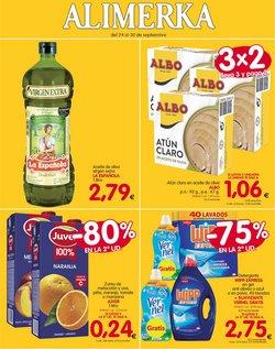 Ofertas de Hiper-Supermercados en el catálogo de Alimerka en Llanes ( Publicado hoy )