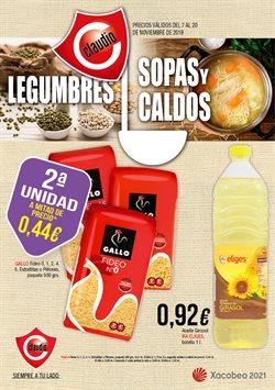 Ofertas de Claudio  en el folleto de Pontevedra