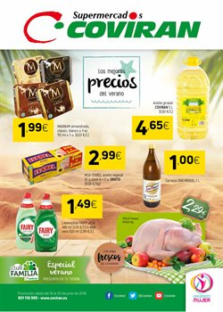 Ofertas de Cerveza  en el folleto de Coviran en Motril