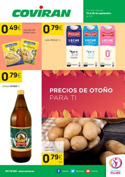 Ofertas de Coviran  en el folleto de San Cristobal de la Laguna (Tenerife)