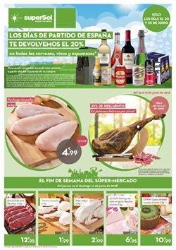 Ofertas de Jamón ibérico  en el folleto de superSol en Madrid