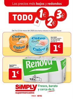 Ofertas de Simply City  en el folleto de Madrid