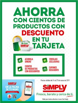 Ofertas de Simply City  en el folleto de Leganés