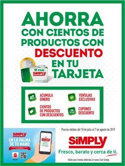 Ofertas de Simply City  en el folleto de Móstoles