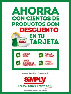 Ofertas de Simply City  en el folleto de Portugalete