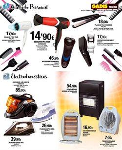 Ofertas de Electrodomésticos cuidado personal  en el folleto de Gadis en Ourense